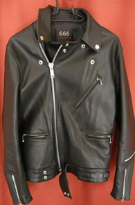 666 LJM-8 FRONT FLAP LEATHER JACKET