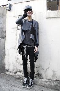 한정수입) Leather jacket
