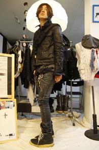 Dior Homme 04 Strip Destroyed JK