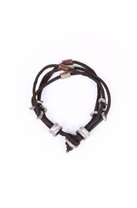 Leather bracelet _ 001