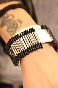 수입) Detail Bracelet : Pin design