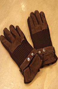 수입) Vintage Brown Gloves