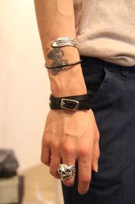 블랙 싱글 Bracelet