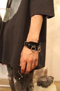 Black Ring Bracelet