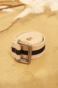 한정수입) Stripe belt