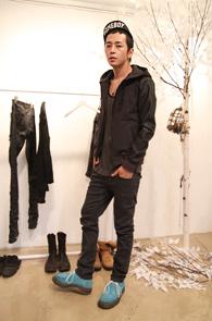 3 Color Washing Pants<BR>Jean Ver. dark gray