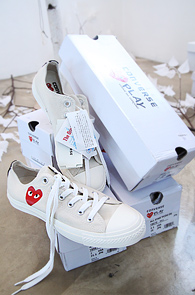 *COMME des GARCONS Play<BR>ALL STAR PCDG OX