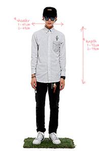 makenoise) ortega shirts White