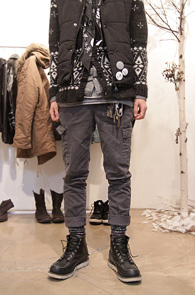 Vintage Washing Cargo Pants <br>그레이 추가입고