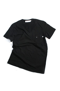 makenoise) Bee v neck BLACK
