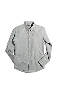 resonance) Oxford shirts GREY