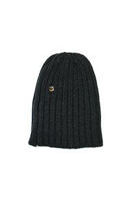 makenoise) m.n knit beanie charcoal