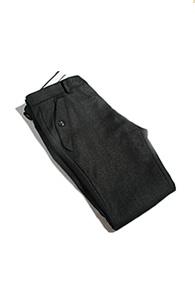 resonance) wing pocket wool slacks
