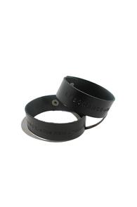 resonance) font bracelet BLACK