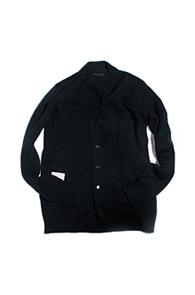 resonance) Emboss woolknit cardigan