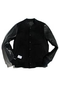 resonance) synthetic leather stadium BLACK