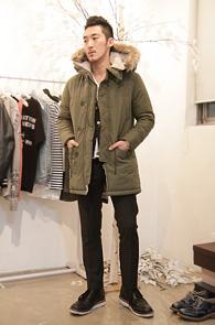 Khaki Long Type N3B Jacket