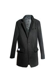 resonance) handkerchief single coat GREY