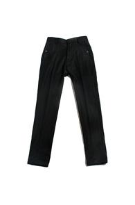 resonance) wing pocket wool slacks BLACK