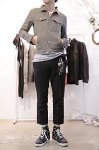 Hidden Camo Cotton Jacket<br>카모플라쥬 패턴 안감<br>카키컬러의 코튼 쥐쟌