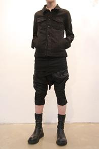마지막수량 한점남았습니다<br>Cotton Black 3rd Type JK<br>심플한 블랙컬러의 코튼 G쟌<br>상,하의 매칭이 간편한 실루엣