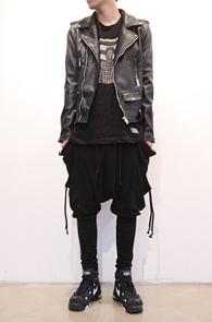 Fake Leather Black Rider Jacket<br>고급 페이크레더소재, 깔끔한핏<br>베이직한 디자인의 라이더 자켓