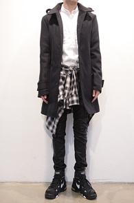 Navy Winter Single Coat<br>네이비 컬러, 두꺼운 울소재<br>견장디테일이 멋스러운 베이직한 코트