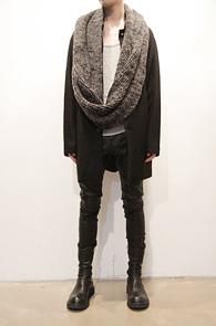 Hidden Camo Black Wool Single Coat<br>울소재, 데끼 디테일,카모안감<br>소프트한 울소재의 싱글코트