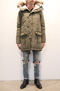 (Used) Khaki Long Winter N3B Jacket