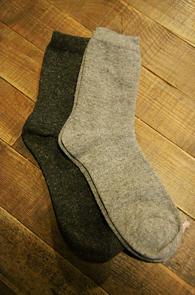2 Color Wool Socks Pack