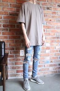 Fog Basic T-Shirts Brown<Br>Fog 베이직 티셔츠<br>브라운색상,베이직한 착용감의 티셔츠