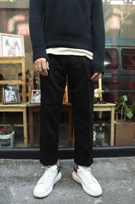 Black Wide Slacks Pants<br>블랙 와이드 카브라 슬랙스<br>편한 착용감,와이드한 실루엣
