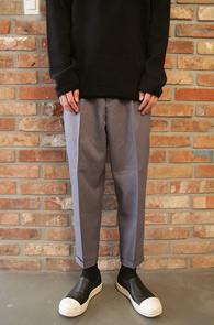 Grey Baggy Slacks Pants<br>그레이 배기 슬랙스팬츠<br>봄 시즌용 슬랙스,편한 착용감