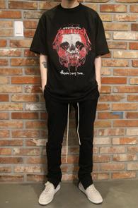 Black Metallica Rock T-Shirts Type 3<br>블랙컬러, 메탈리카 프린팅<br>락밴드 프린팅이 매력적인 티셔츠