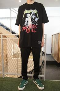 Black Metallica Justice T-Shirts<br>블랙컬러, 메탈리카 프린팅<br>펑키한 느낌의 락 티셔츠