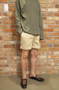 Banding Beige Half Pants<br>얇은 면소재, 밴딩 디테일<br>편안한 착용감의 하프팬츠