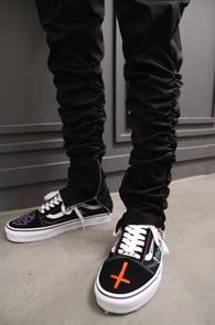 Black Shirring Zipper Cargo Pants<br>블랙컬러, 셔링디테일<br>편안한 착용감의 셔링 팬츠