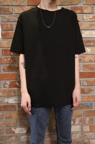 Black&Grey Reversible T-shirts<Br>블랙컬러와 그레이컬러<br>편한 착용감과 루즈한 실루엣