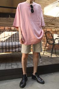 Over Fit Basic Pink T-Shirts<br>핑크컬러, 박시한핏감<br>베이직한 디자인의 오버핏 티셔츠