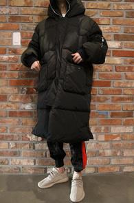 Black Duck Down Long Padding Jumper<br>오리털 충전재, 뛰어난 보온성<br>한겨울에도 착용가능한 롱 패딩 점퍼