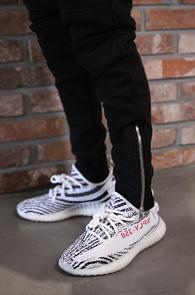 2 Color Zipper Jogger Pants<Br>블랙과 그레이 두가지 컬러<br>밑단 지퍼 디테일의 트레이닝 팬츠