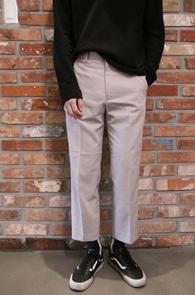 Indigo Pink Crop Slacks Pants<br>인디핑크 컬러, 크롭기장<br>기본 디자인의 슬림 크롭 슬랙스